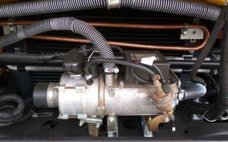 ПЖД КамАЗ — предпусковой обогреватель двигателя, характеристики, разбор